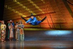 """Elevação alta no sonho do """"The do drama da ar-dança do  de seda marítimo de Road†Imagens de Stock Royalty Free"""