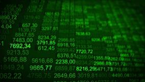 Elevação comercial futurista das partículas do fundo do Internet ilustração stock
