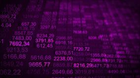 Elevação comercial futurista das partículas do fundo do Internet ilustração do vetor