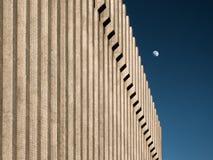 Elevação da lua Fotografia de Stock Royalty Free