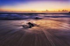 Elevação da parte dianteira da praia de Nambucca do mar Imagens de Stock Royalty Free
