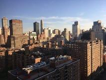 Elevação de New York Sun Imagem de Stock Royalty Free