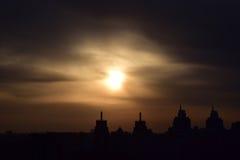 Elevação de Sun Foto de Stock