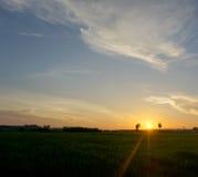 Elevação de Sun Foto de Stock Royalty Free