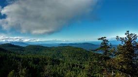 Elevação nas nuvens Fotos de Stock Royalty Free