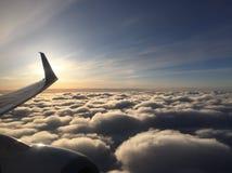 Elevação no céu imagens de stock