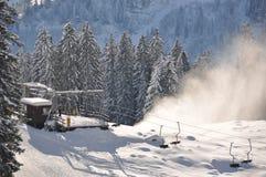 Elevación de esquí imagen de archivo
