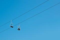 Elevación de esquí Fotos de archivo