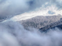 Elevación de esquí fotografía de archivo