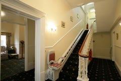 Elevación de la escalera Fotografía de archivo libre de regalías
