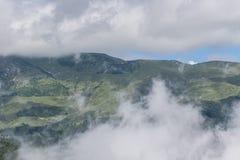Elevación de silla con niebla Fotografía de archivo libre de regalías