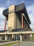 Elevación del barco de Strepy-Thieu (Bélgica) Fotos de archivo