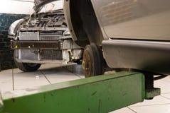 Elevación del taller de reparaciones. imágenes de archivo libres de regalías