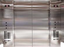 Elevación interior del elevador Imágenes de archivo libres de regalías