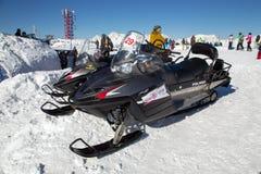 Elevaciones de la montaña a la estación de esquí Rosa Khutor Sochi, Rusia Fotos de archivo