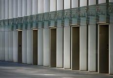 Elevaciones de las oficinas Imagen de archivo libre de regalías