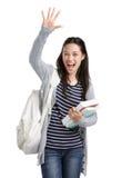 Elevado-cinco! Imagens de Stock