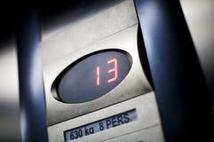 elevador 13 Imagen de archivo