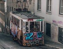 Elevador da Bica Tram stock photography