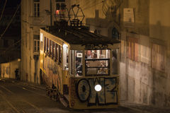 Elevador da Gloria, Lisbon Stock Photography