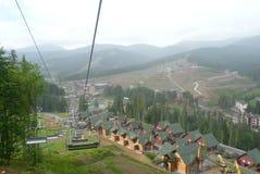 Elevador da montanha Fotos de Stock