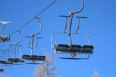 Elevador de esqui Fotografia de Stock Royalty Free
