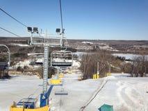 Elevador de esqui Fotos de Stock Royalty Free