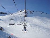 Elevador de esqui Imagem de Stock Royalty Free