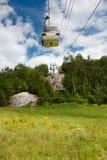 Elevador de esqui do verão fotos de stock royalty free