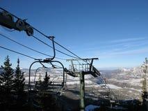 Elevador de esqui no Telluride, Colorado Foto de Stock Royalty Free