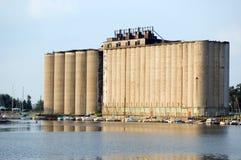 Elevador de grano Imagenes de archivo