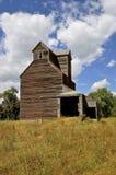 Elevador de grano abandonado de madera Foto de archivo