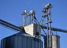 Elevador de grano de Cercano oeste Imagen de archivo libre de regalías