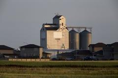 Elevador de grano Saskatchewan Fotos de archivo