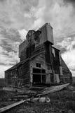 Elevador de grano viejo Imagenes de archivo