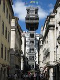 Elevador de Santa Justa Royalty Free Stock Photography