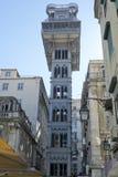 Elevador De Santa Justa - Baixa Chiado, Lisbonne Portugal Image libre de droits