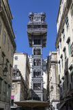 Elevador de Santa Justa - Lisbon - Portugal stock photography