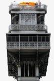 Elevador DE Santa Justa, Lissabon, Portugal. Stock Afbeeldingen