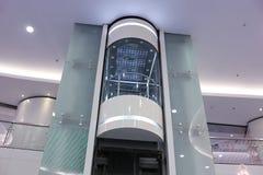 Elevador de vidro Foto de Stock