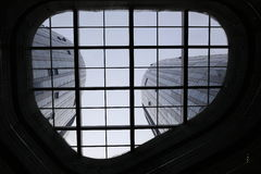 Elevador de vidro Fotografia de Stock Royalty Free