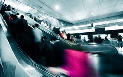 Elevador del subterráneo Imagen de archivo libre de regalías