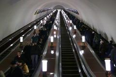 Elevador del subterráneo Fotografía de archivo libre de regalías