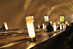 Elevador del subterráneo Fotos de archivo