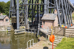 Elevador do barco de Anderton Imagem de Stock