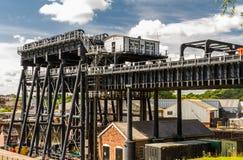 Elevador do barco de Anderton, escada rolante do canal Fotos de Stock Royalty Free