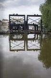 Elevador do barco de canal de Anderton Imagens de Stock Royalty Free