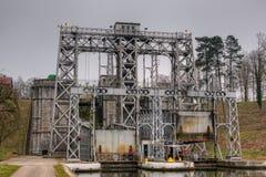 Elevador do barco em Ronquieres Imagens de Stock Royalty Free
