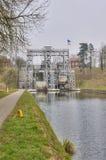 Elevador do barco em Ronquieres Imagem de Stock Royalty Free