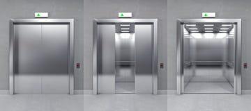 elevador moderno 3d